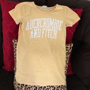 Abercrombie & Fitch fitted T-shirt